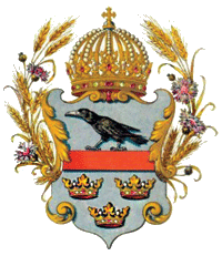 The coat of arms of Galicia